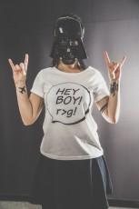 Hey boy! t-shirt damski Thomas Piketty
