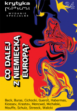 Krytyka Polityczna nr 34 wydanie specjalne: Co dalej z niemiecką Europą?