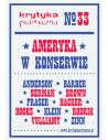Krytyka Polityczna nr 33: Ameryka w konserwie