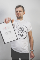 Hey boy! t-shirt męski Thomas Piketty