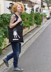 Lord Gender czarna torba bawełniana