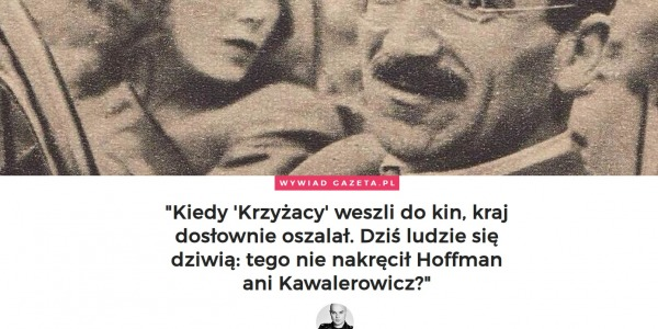 Aleksander Ford w Weekend w Gazeta.pl