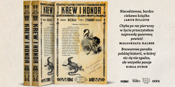 "Bookhunter.pl recenzuje ""Krew i honor"""